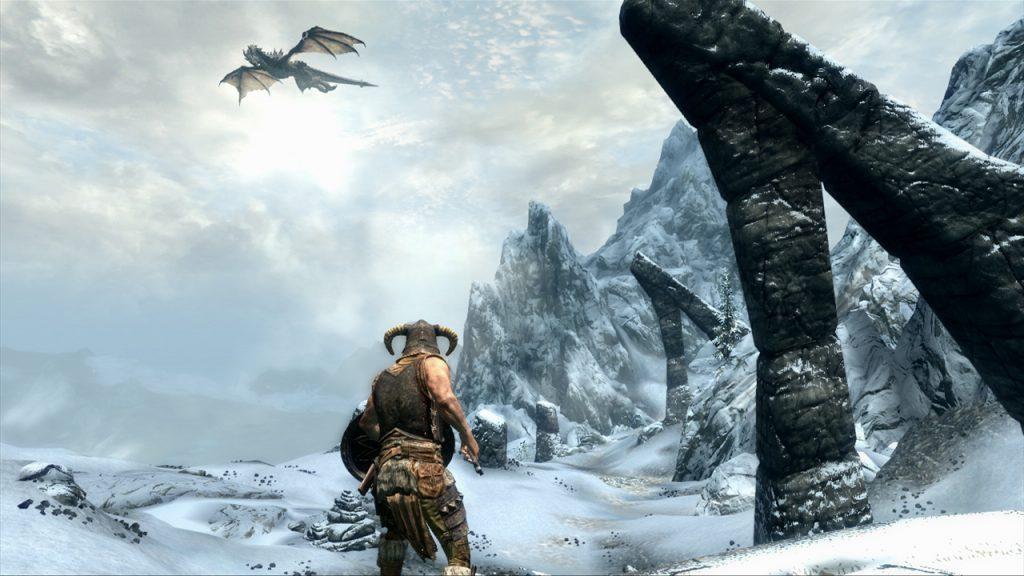 Skyrim screenshot (credit: Geforce)