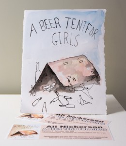 A Beer Tent for Girls by Ali Nickerson