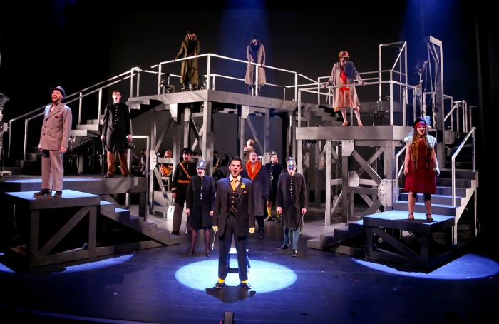 U of A Studio Theatre's production of The Threepenny Opera (2015). Photo by Ed Ellis.