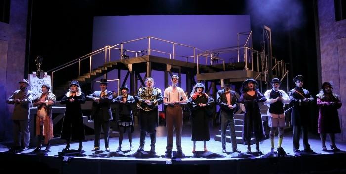 U of A Studio Theatre's The Threepenny Opera 2015. Photo by Ed Ellis.