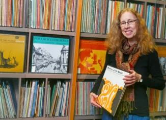 Joan Greer, interim director of FolkwaysAlive! Photo by Ed Ellis.