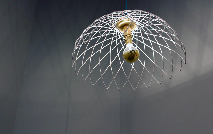 Hypotrochroid Pendant (Light) by Amanda Nogier