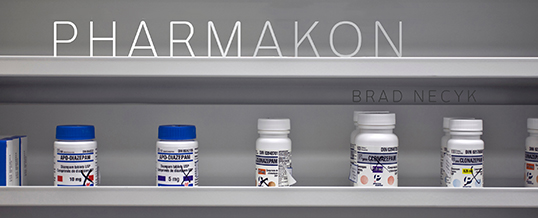 Pharmakon pharmacy image by Brad Necyk