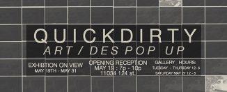 QUICK DIRTY: Art/Des Pop-up Feature Image