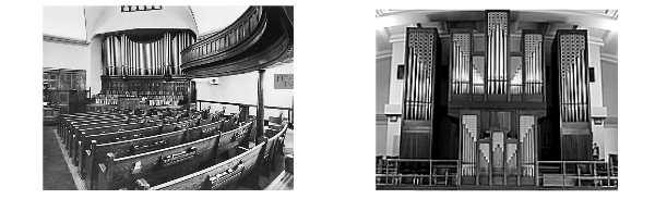 Then vs Now Organ. Originally published on The Quad blog, U of A.
