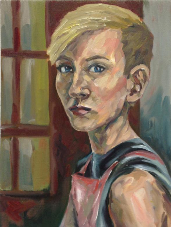Self portrait of Ariel Durkin