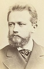 Pyotr Ilyich Tchaikovsky, Head And Shoulders Portrait, Facing Slightly Left, Between 1880 And 1886. Wikimedia Commons.