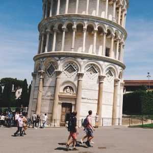Leaning Tower Of Pisa. Photo Credit: Alex Migdal