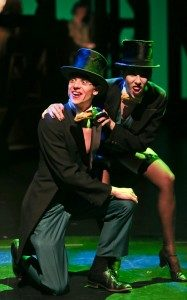 Natalie Davidson And Zvonimir Rac In The Threepenny Opera.