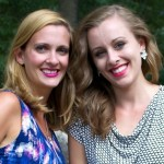 Sisters Devan Stahl (left) And Darian Goldin Stahl (right).