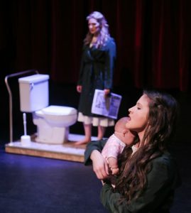 A Dream Play Is Designed By Zsofia Opra Szabo As Her Mfa In Theatre Design Thesis Production. Photo By Ed Ellis.