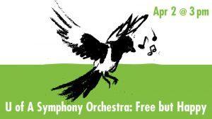 Free But Happy Concert: Apr. 2 @ 3pm