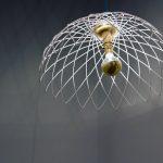 Hypotrochroid Pendant (light) By Amanda Nogier
