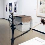 Untitled Tiffany Adair Wood, Sticks, Thread, Fur, Nails, Screws