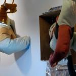 Untitled Alyson Davies Mixed Media Installation