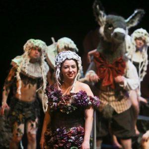 Natasha Napoleao As Titania In A Midsummer Night