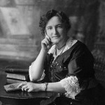 Nellie Mcclung. Ca. 1905 1922 / Gladstone, Manitoba. Source: National Archives Of Canada. Pa 030212