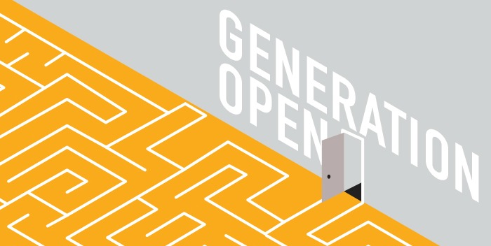 Generation Open Is The Theme For Open Access Week 2014. Illustration By Michael Parillas.