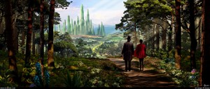 Oz The Great And Powerful Concept Art By Nicholas Hiatt