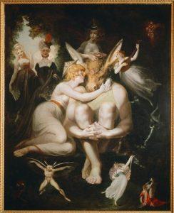 Henry Fuseli. Titania Awakes, Surrounded By Attendant Fairies (1793 1794).
